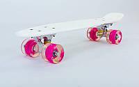 Скейтборд Penny Led Wheels 22in со светящимися колесами SK-5672