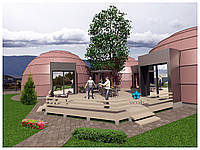 Стратодезический модульный купольный комплекс СТК