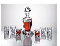 Набор для водки и ликераBohemia Quadro 500 мл. + 55 мл.