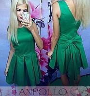 Красивое платье пояс бант. Расцветки АА-003.009