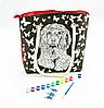 Сумка раскраска с красками