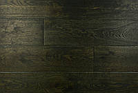 "Трехслойная однополосная паркетная доска ""Черный"", 15х120х1000-2200 мм."