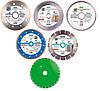 Алмазные диски и круги алмазные по бетону, асфальту, камню, керамической и тротуарной плитке