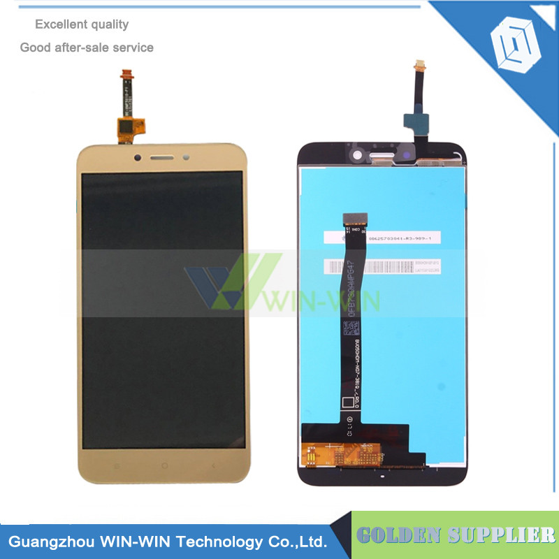 Дисплейный модуль для мобильного телефона Xiaomi Redmi 4X золотой