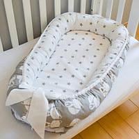 """Переносная кроватка для новорожденных """"Лисичка - сестричка"""""""