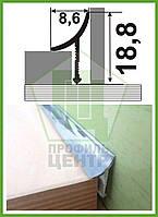 Внутренний универсальный уголок для плитки, полированный. L - 2.7 м