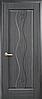 Двери межкомнатные Новый Стиль, Маэстра, модель Волна, глухое с гравировкой