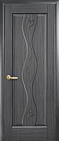 Двері міжкімнатні Новий Стиль, Маестра, модель Хвиля, глухе з гравіюванням