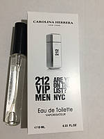 Мужская мини парфюмерия Carolina Herrera 212 Vip Man 10 мл