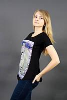 Универсальная черная футболка / Універсальна чорна футболка