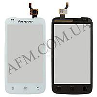 Сенсор (Touch screen) Lenovo A356 белый