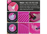 Коврик для мытья кистей  Spa Brush Cleaning Mat (Спа Браш Клининг Мет)