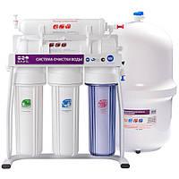 Cистема очистки воды на раме 5-ти стадийная