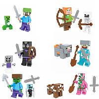 Фигурка майнкрафт (на выбор) Лего Майнкрафт фигурки Minecraft
