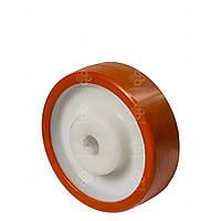 Колеса из полиамида с полиуретановым контактным слоем без кроншт. с подш.скольженияØ80,100,125,150,200 мм