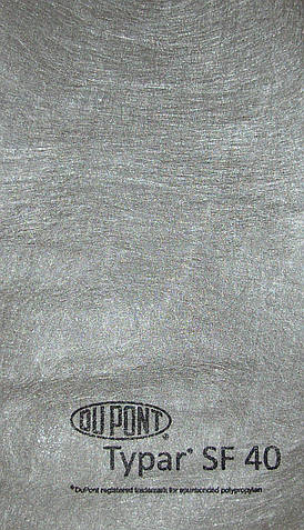 Термически скрепленный геотекстиль Typar SF 40 (5,2м*150м) Тайпар Люксенбург