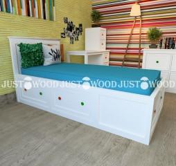 """Кровать """"Пиноккио""""  JustWood"""