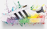 Кроссовки мужские Adidas Originals Superstar Pride Pack White Rainbow