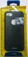 """Пластиковая металлизированная накладка Spigen """"Magnetic"""" для lenovo"""