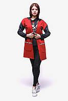 Женский кардиган В-1 Красный