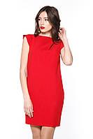 """Плаття косі складки """"Tiffany"""" червоне"""