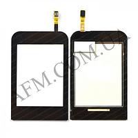 Сенсор (Touch screen) Samsung C3300 champ коричневый