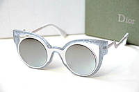 Очки женские от солнца Fendi Paradeyes белые (010516-2)