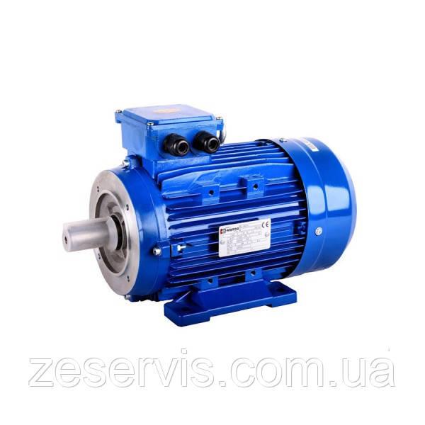 Электродвигатель асинхронный MS100L1-4 2,2 кВт IMB14 1500 об./мин. DIN