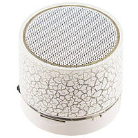 MP3 BlueTooth колонка HLD-600 Leopard белая (17619054)
