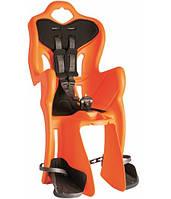 Сидіння для перевезення дітей (заднє) BELLELLI B1 standart до 22кг оранж, срібн.