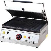 Гриль прижимной профессиональный Silver 2135 LPG газовый