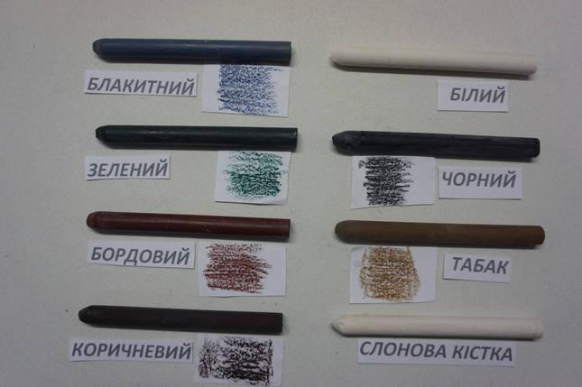 Воск заделочный карандаш  (Италия) цвет в ассорт., фото 2
