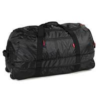 Сумка дорожная на колесах Members Foldaway Wheelbag 105/123 Black