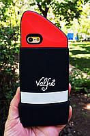 Силиконовый чехол Помада iPhone 6S/6, Valfre