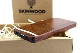 Деревянный внешний аккумулятор Американский орех