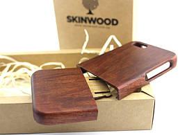 Деревянный раскладной чехол Макорэ для iPhone 5/5S