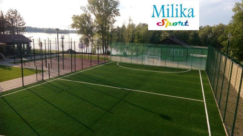 "Спортивная площадка мини футбол - ТМ ""Milika Building"" в Днепре"