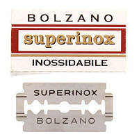 Bolzano Superinox Double Edge Razor Blades Двусторонние лезвия 5 шт