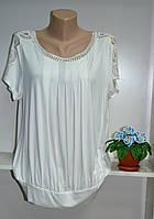 Женская летняя  футболка хорошего качества большой размер, фото 1
