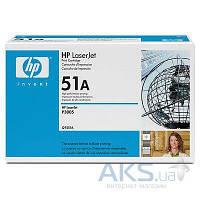 Картридж HP 51A для LJ P3005/M3027/M3035 (Q7551A) Black
