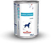 ROYAL CANIN Hypoallergenic (ГИПОАЛЛЕРГЕНИК) лечебный влажный корм для собак 0,4КГ