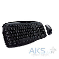 Комплект (клавиатура+мышка) Microsoft Wired Desktop 600 USB Black Ru Ret