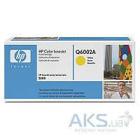 Картридж HP 124A для CLJ 1600/2600 (Q6002A) Yellow