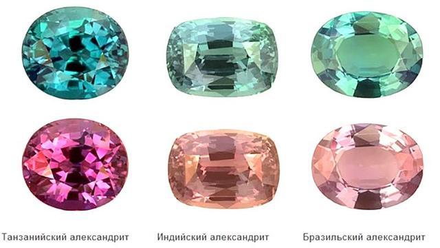 Александрит магические свойства камня