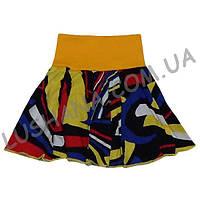 Летняя юбка для девочки Талия на рост 86-92 см - Кулир