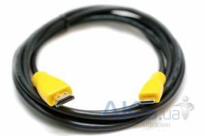 Видеокабель ExtraDigital Mini HDMI > HDMI, 2m, позолоченные коннекторы, Blister, 1.3V