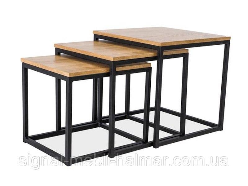 Журнальный столик Trio в комплекте 3 шт  (SIGNAL)