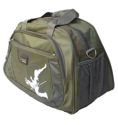 Дорожная сумка Зеленый, фото 2