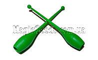 Булава гимнастическая 41см, Зеленый