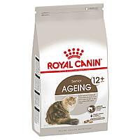 Royal Сanin AGEING 12+ (ЕЙЖИН 12+) сухой корм для стареющих кошек старше 12 лет 2КГ